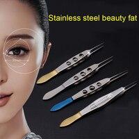 Ferramentas pálpebra dupla Pálpebra instrumentos de Microcirurgia com dentes/plataforma de Beleza Saúde MakeupMakeup Ferramentas/Acessórios Pinça