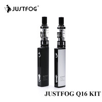 2pcs Lot Justfog Q16 Starter Kit With 900mAh J Easy 9 Battery New Electronic Cigarette Vape