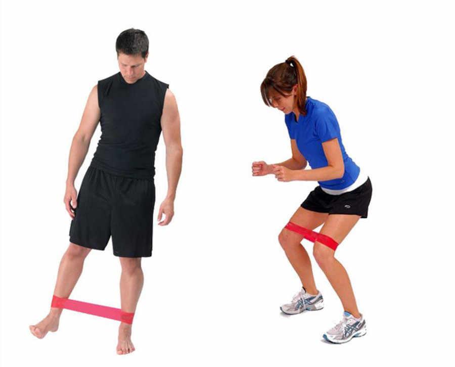 Guma oporowa joga Pilates domu siłownia Fitness ćwiczenia treningu szkolenia kobiety Fitness ćwiczenia 0.3-1.2mm Dropshipping #9