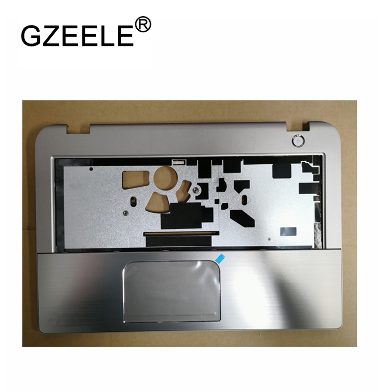GZEELE New laptop upper case base cover for Toshiba Satellite E45T E45T-A Palmrest topcase Keyboard Upper cover with Touchpad brand new laptop for dell inspiron 15 15r 5521 5537 3537 3521 lcd back cover upper cover bezel case palmrest cover bottom case