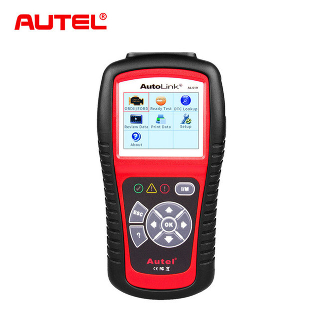 Big Sale Autel Original Car Diagnostic Tool OBD2 Automotive Scanner AL519 OBD 2 EOBD Fault Code Reader Scan Tools