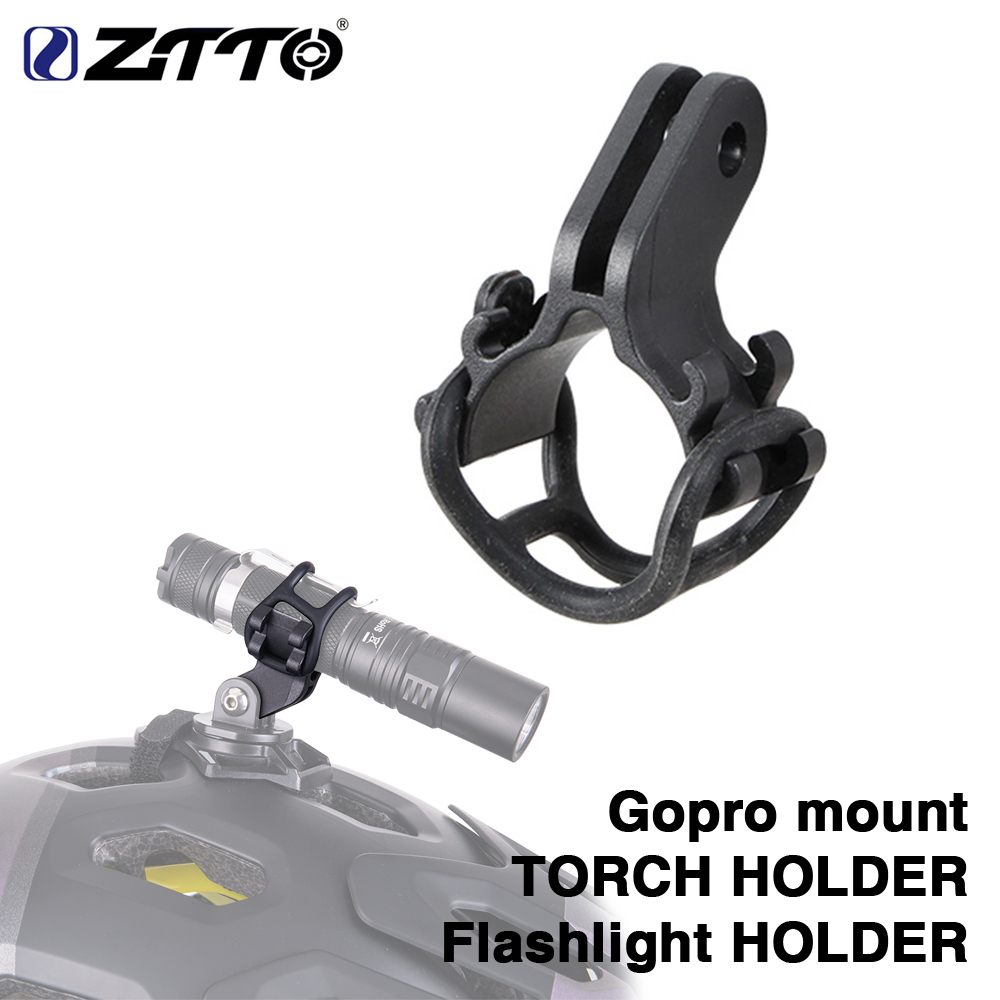 Bicycle Light Torch  Flashlight Bracket Bike Accessories For Go pro Mount/_ QW