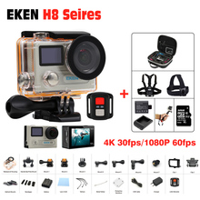 """Action Kamera Ultra HD 4 Karat 30FPS WiFi Sport Cameres Ursprüngliche EKEN H8/H8R 2,0 """"170D Dual Len Unterwasser Wasserdichte Helmkamera"""