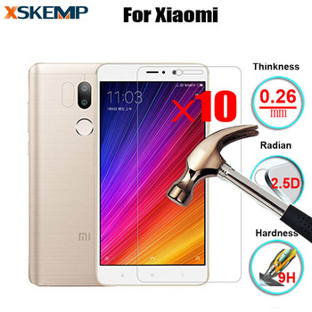 10pcs/lot TOP Quality 0.3mm For Xiaomi Mi2 M3 M4i 4C 4S Mi 5 5S Plus Note 9H Hard 2.5D LCD Tempered Glass Film Screen Protector