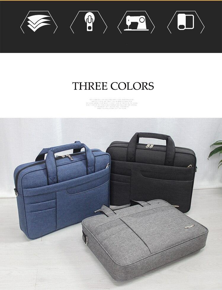 HTB1AZXXbEGF3KVjSZFmq6zqPXXaX Brand Waterproof Men Women 14 15.6 inch Laptop Briefcase Business Handbag for Men Large Capacity Messenger Shoulder Bag