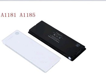 3.8V batteries Rechargeable Li-ion Li-polymer Built-in lithium polymer battery for A1185 A1181 MB402 MB403 MA472 6000mAh