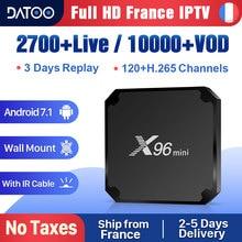 X96Mini IPTV France Arabic Italy Spain Portugal X96 MINI Android 7.1 1G+8G/2G+16G X96MINI Box