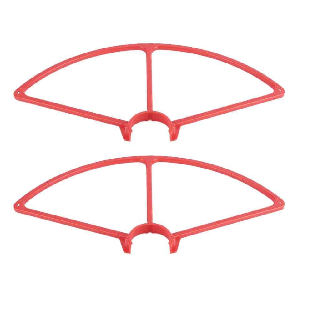 عالية الجودة 4 قطعة الأحمر البلاستيك الدعامة بليد حامي المروحة الحرس ل YUNEEC Q500 4 K Quadcopter كاميرا Drone