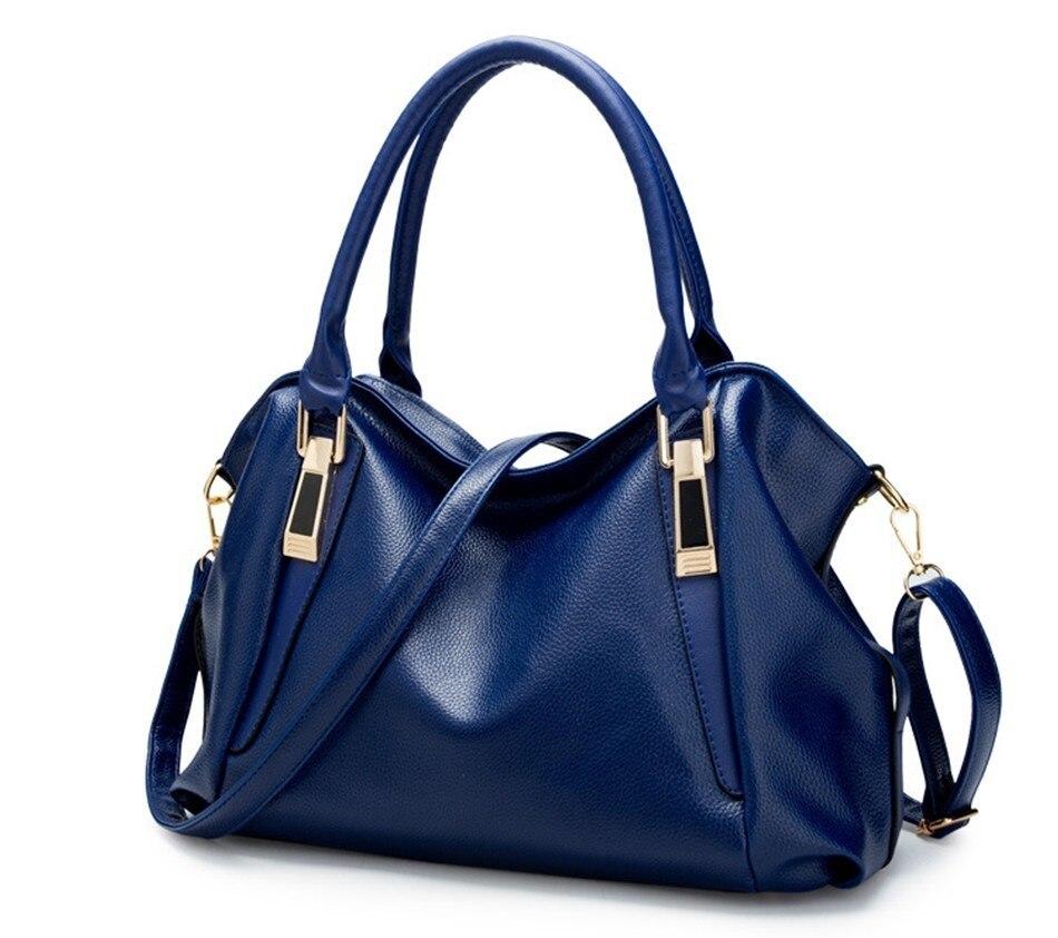 Hazy beauty Women Handbag Female PU Leather Bags Handbags Ladies Portable Shoulder Bag Office Ladies Hobos Bag Totes 76