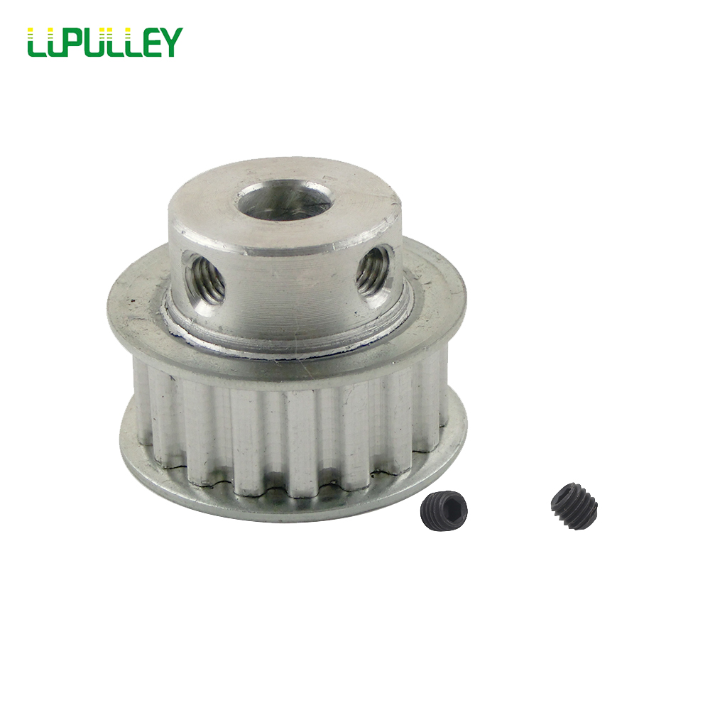 LUPULLEY 1PC XL 18T Timing Pulley Bore 6/8/10/12mm Toothed  Timing Belt Pulley Belt Width 11mm  Aluminum Gear Belt Pulley