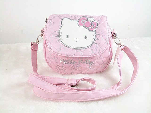 O Kitty Children Cross Body Small Bag Kindergarten Mini Single Shoulder Handbag