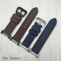 24mm High quality Genuine leather Watch Strap With Adapter for SUUNTO CORE ESSENTIAL free shipping