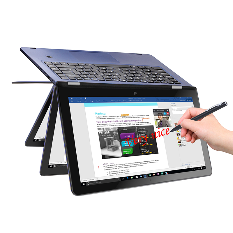 VOYO V3pro Apollo Lake N3450 Quad Core 1.1-2.2GHz Win10 tablet PC IPS Screen With 8GB DDR3L 120GB SSD 13.3YOGA Computer