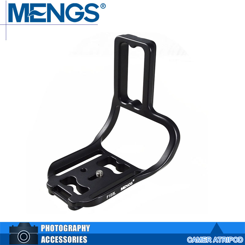 MENGS F1D3L L Shaped font b Camera b font Quick Release Plate With font b Battery