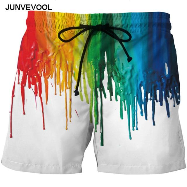 450d8b51e9835 Graffiti Conseil Shorts Hommes Maillot de Bain 3D Vente Chaude Hommes  Maillots De Bain vêtements Nouvelle