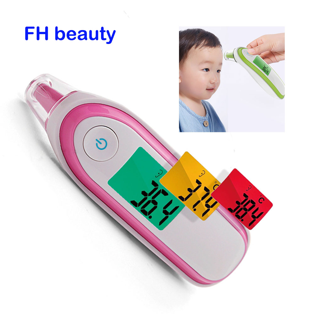 Medizinische Haushalt Infrarot Digital Ear & Stirn Laser Körper Thermometer Lcd Baby Erwachsene Fieber Temperatur Ohr Thermometer Produkte HeißEr Verkauf Schönheit & Gesundheit Thermometer