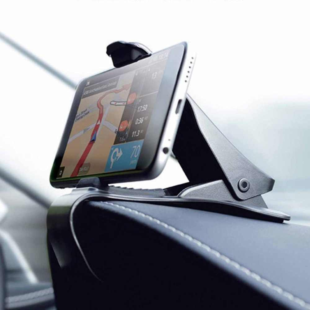 Newest Universal Cradle Adjustable GPS Holder HUB Dashboard Phone Mount Smartphone GPS Navigation Black Car Holder Support