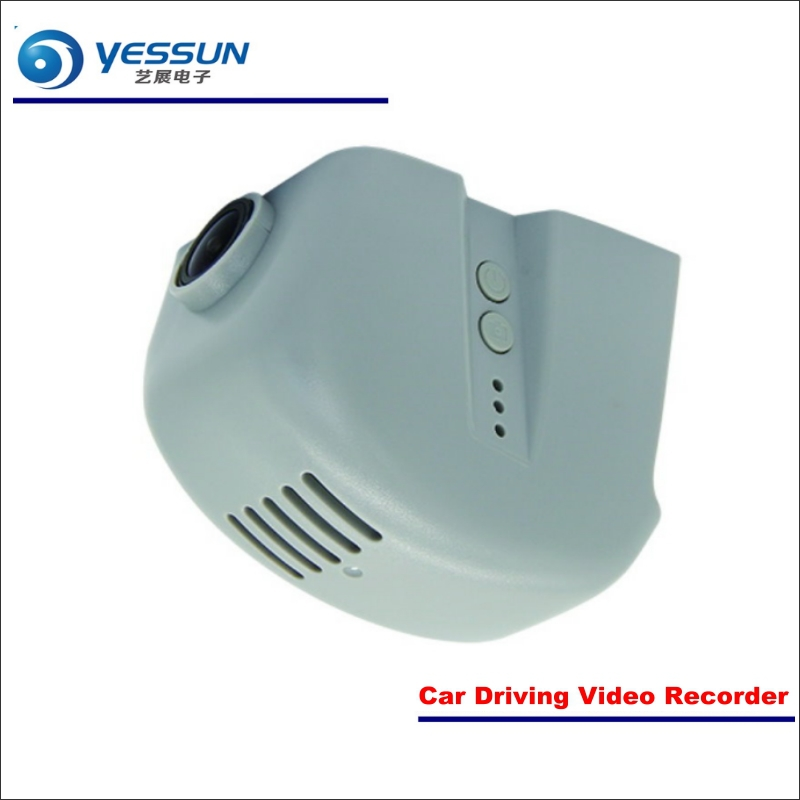YESSUN For Audi A3 Sedan / Q7 2015~2017 Car DVR Driving Video Recorder Front Camera Black Box Dash Cam - Head Up Plug Play OEM bigbigroad for nissan qashqai car wifi dvr driving video recorder novatek 96655 car black box g sensor dash cam night vision