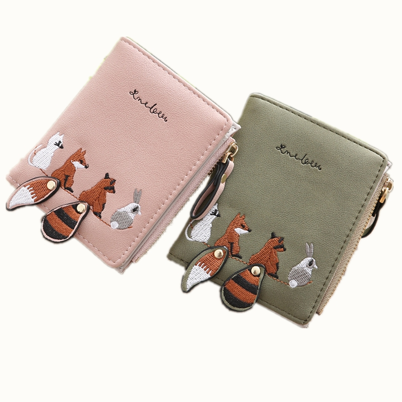 New Pu Womens Wallet Purse Flower Female Passport Cover Business Card Coin Key Holder Case Clutch Pocket ...