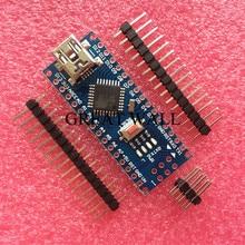 Freeshipping ! 5PCS Nano 3.0 controller compatible for arduino nano CH340 USB driver NO CABLE