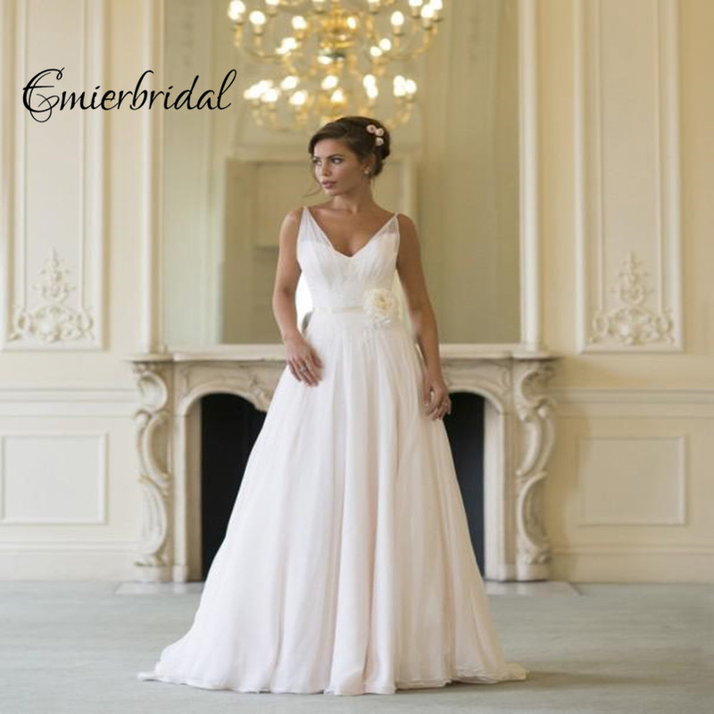 383854c3fb9 Naomi Neoh Chiffon Long Grecian Backless Beach Wedding Dresses Boho Bridal  Dress Vintage Greek Goddess Wedding Gown Summer Style-in Wedding Dresses  from ...