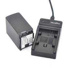 DuraPro BP-828 Battery +Extremely Slim USB Digital Charger for Canon VIXIA HFG10 HFG30 HFM30 HFM300 HFM40 HFM400 HFS30 HF20  HG20