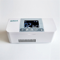 100 240V Portatile Mini Box Frigo Insulina Box Refrigerato Drug Reefer Degree 8 Hours Standby Time