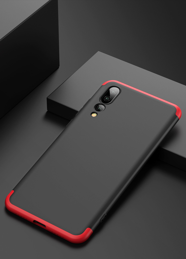 360 Degree Full Back Cover For Huawei P20 / P20 Pro Case 3 In 1 Hard PC Case Protector Original Case For Huawei P 20 Pro Shell