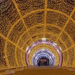20 м 40 м 60 м 80 м 100 м светодиодный подключаемый Сказочный светильник, праздничное патио, рождественское свадебное украшение, водонепроницаемы...