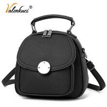Valenkuci 2017 пакета(ов) женщины рюкзаки мода причинно женщины кожаные сумки рюкзаки дамы девушки школьные сумки сумки на ремне BD-200