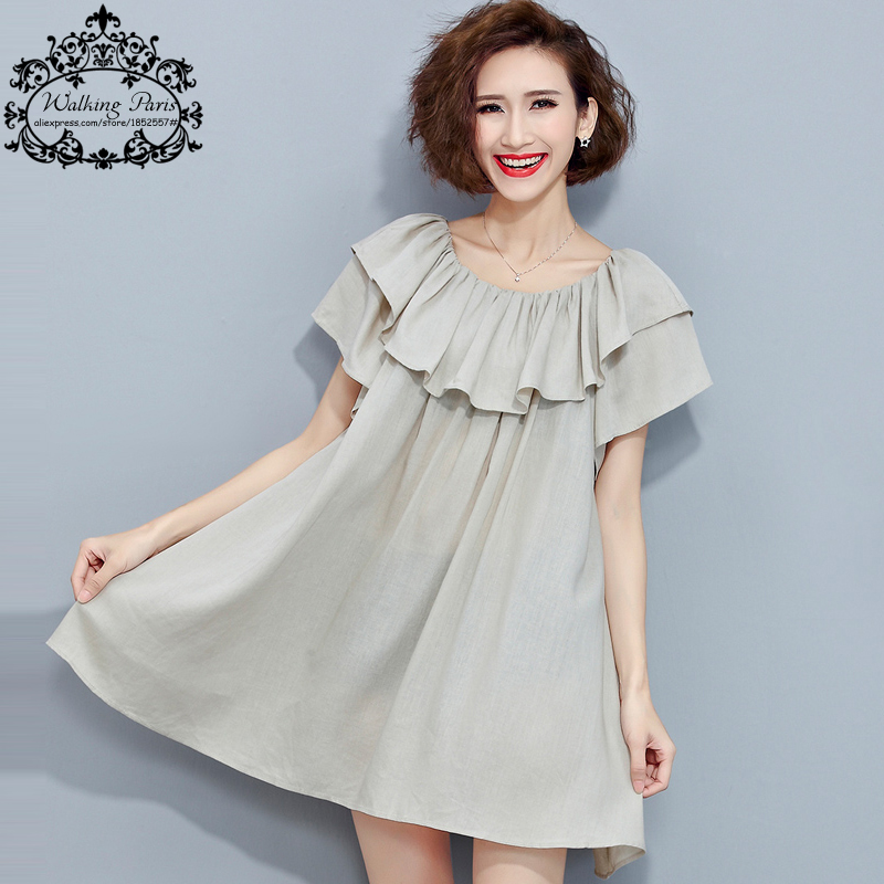 Aliexpress.com : Buy Plus Size Dress Women Summer O Neck Sexy Off ...