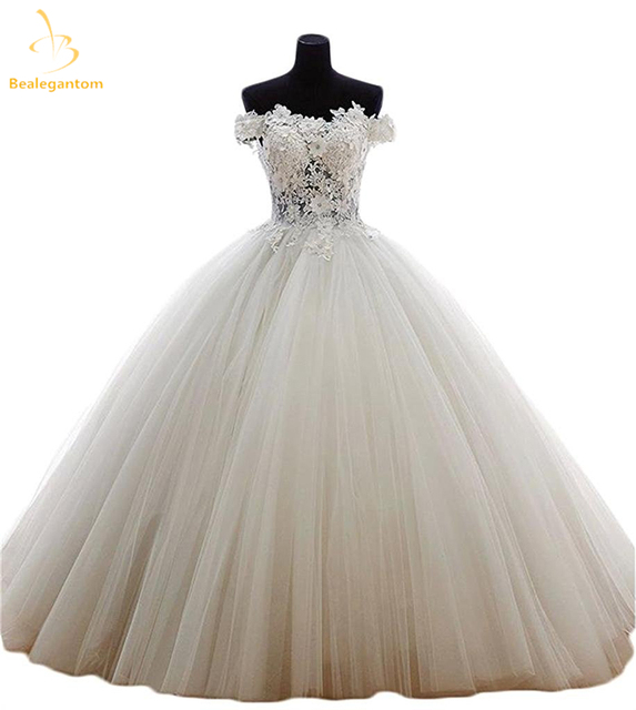 079a8792cf2 Bealegantom New Quinceanera Dresses Ball Gown 2019 Tulle Beaded Crystal  Sweet 15 16 Dresses Vestidos De 15 Anos QA1120