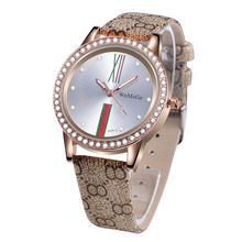 Style Model Watches Luxurious Rhinestone Watch Girls Watches Leather-based Girls's Watches Clock saat relogio feminino reloj mujer