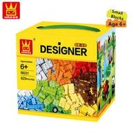 Wange Small 625pcs Lot Kids DIY Toys Educational Building Blocks Plastic Bricks Parts Of Toys Early