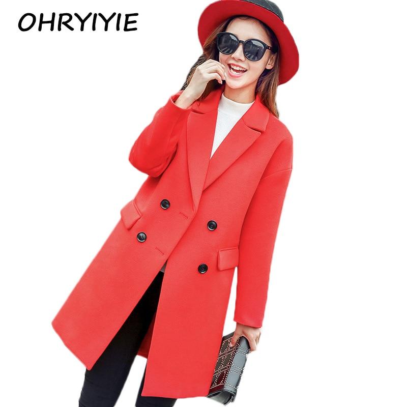 Popular Red Coats for Women-Buy Cheap Red Coats for Women lots ...