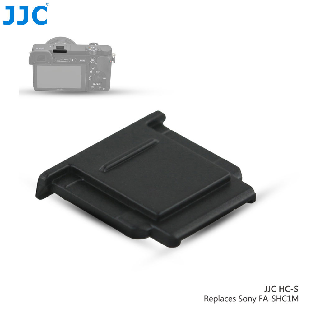JJC Camera Hot Shoe Cover Black White Protector Cap for Sony A77II A3000 A6000 A6300 A6500