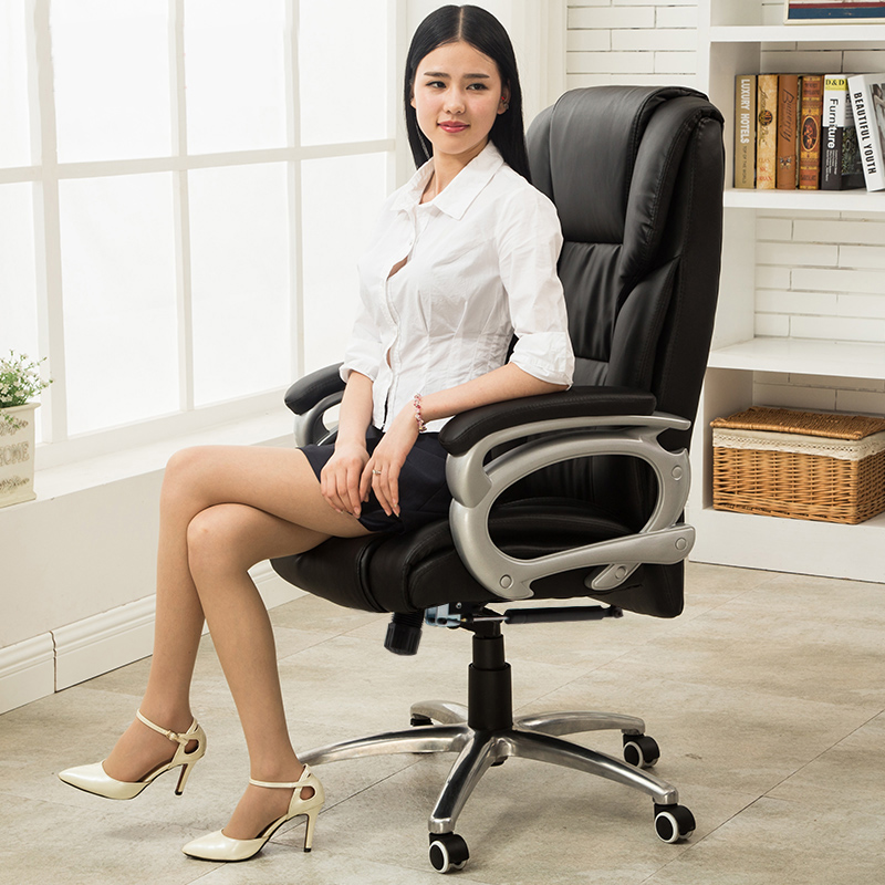 Computer Chair Home Office Chair Massage Chair Lift Chair recline footrest lunch break seat female anchor chair comfortable fashionable pink computer chair the home games chair live chair lovely lift swivel chair