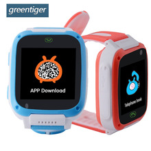 Greentiger T10 Smart Children Watch Color Screen GSM Game Smart Baby Watch  Flashlight Location Finder Camera SOS Alarm