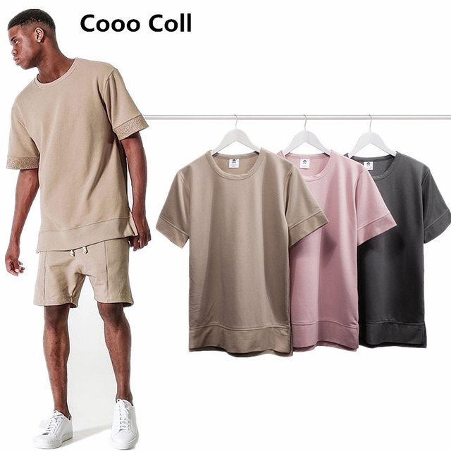 Men's Fashion T-shirts Kanye West Fear of god FOG T-shirt season 3 Tops Justin Bieber Hip Hop Tee FOURTH COLLECTION Cooo Coll