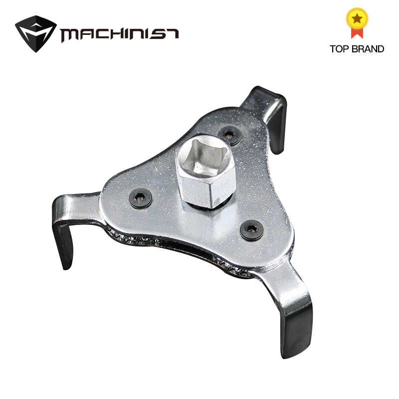 1pc Alloy 3 Jaw Oil Filter Wrench Tool for Car Repair Adjustable Two Way Oil Filter Key Auto Car Repairing Tools 60-110mm