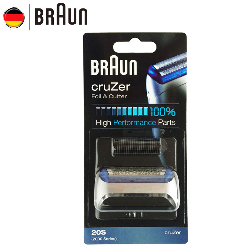 Braun Electric Razor Blade 20S for 2000 Series Electric Shaver 20S Z20 Z30 Z40 2876 5732 Cruzer4 Cruzer5 braun cruzer 5 beard