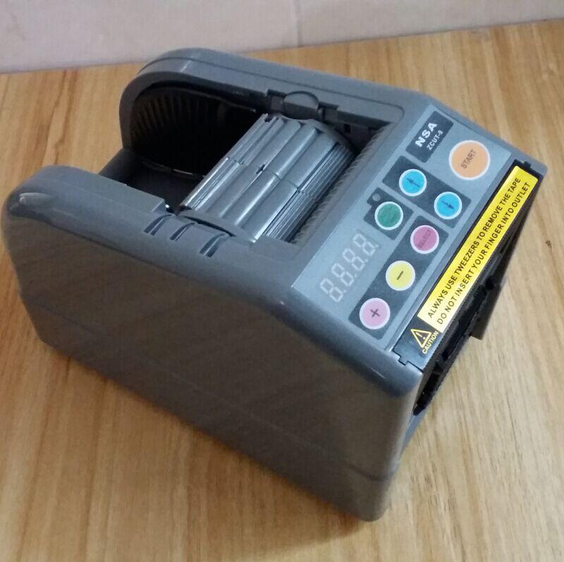 ZCUT-9 Hot sale 2017 automatic tape dispenser /wide 60MM tape cutting machine 2 rolls at a time. 2017 hot adhesive tape die cutting machine for 60mm width zcut 9
