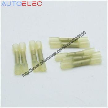 BHT0.5 10Pcs 000979940 Auto Waterproof Butt Connector Splice Butt Heat Shrink Tube Joint for Audi VW Skoda Seat Car image