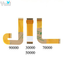 YuXi 100pcs Ribbon Cable 3W 5W 7/90000x Laser Lens For PS2 Slim Flex Connection SCPH 30000 50000 70000 90000 Replacement laser lens tdp 082w tdp182w for ps2 slim sony playstation 2 with deck mechanism optical 7900x 70000 90000 replacement