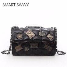 Luxury Handbags Women Designer Fashion Shoulder Chain Evening Clutch Bags Ladies Messenger Crossbody Shopping Bag For Girls 2019