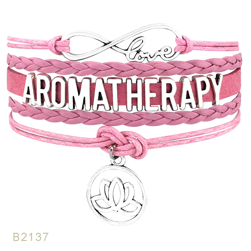 Love OT PTs Occupational Physical Speech Therapy Aromatherapy Acupuncture Respiratory Massage Therapist Bracelets for Women(China)