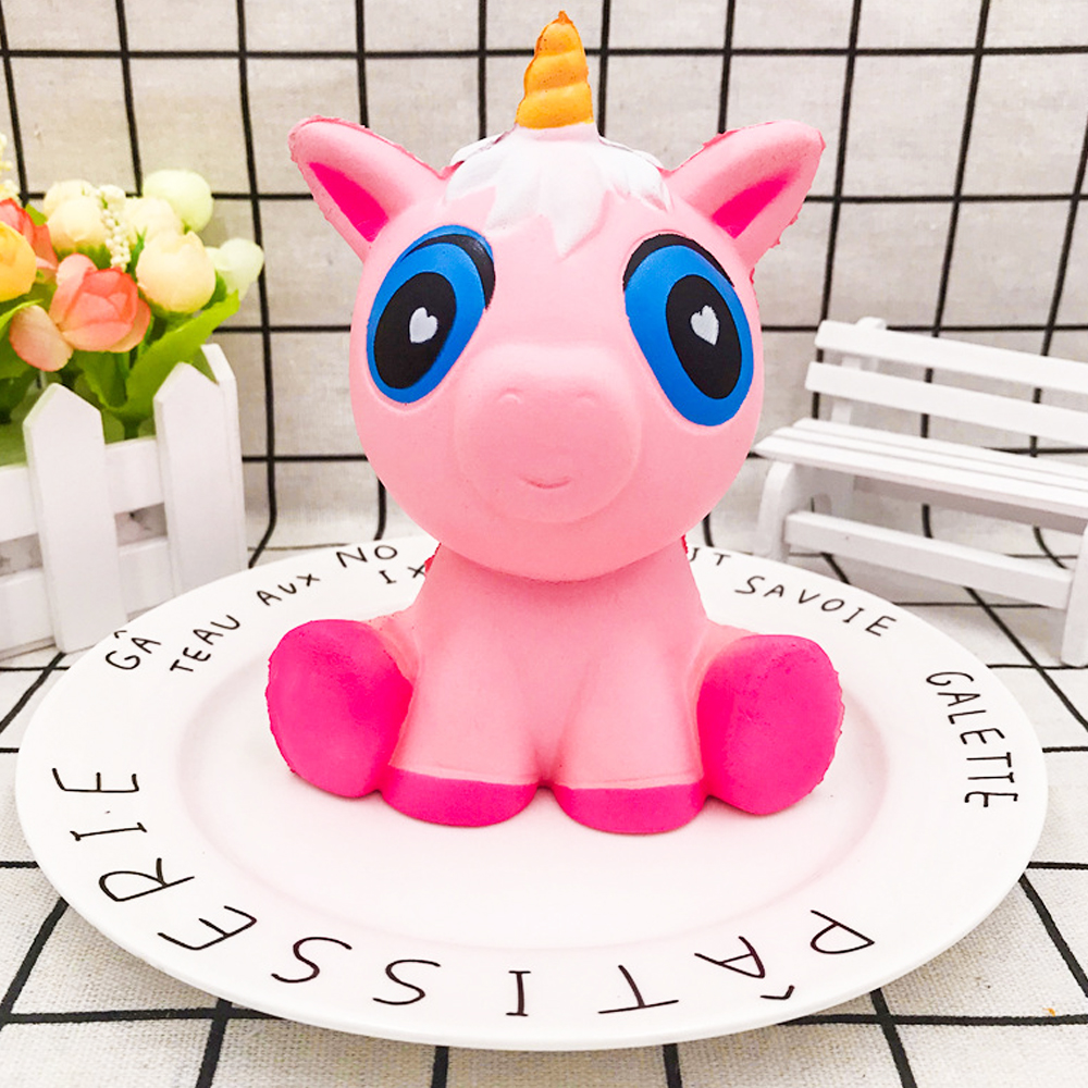 Cute Panda Squishy Unicorn Slow Rising Jumbo Squish Antistress Toys Funny Animal Squeeze Toys Reliever Stress Gift