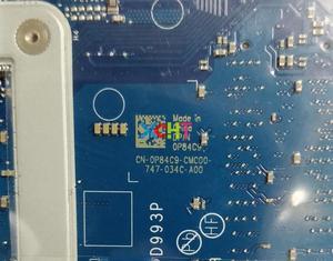 Image 3 - Para Dell Inspiron 7567 7467 CN 0P84C9 0P84C9 P84C9 LA D993P w SR32Q I7 7700HQ CPU Motherboard Mainboard Testado
