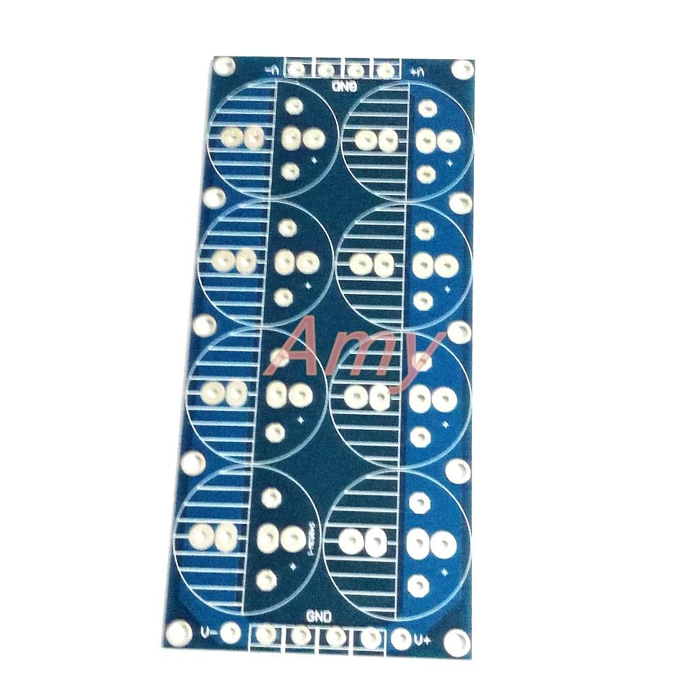 2pcs/lot Power Amplifier, Capacitor Filter Board, Power Board, Empty Board, PCB