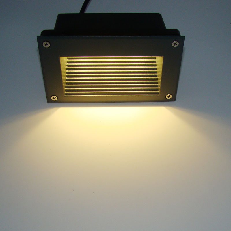 3W LED wall lamps underground light recessed buried floor lamp Waterproof IP54 outdoor Landscape stair lighting AC85-265V 1036 10pcs lot 50w cob underground floor recessed lamp foot lamp led underground lamps buried ground12v 24v 85 265v buried lights